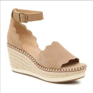 Crown Vintage Daffodil Espadrille Wedge